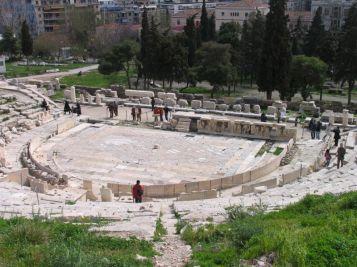 Dionysoksen teatteri Ateena Akropol.jpg
